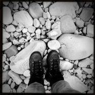 Das ist mein Fuß, auf dem Du stehst!