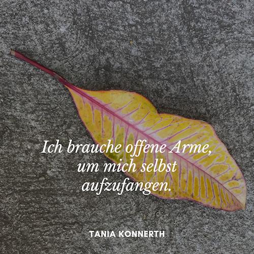 Offene Arme – Tania Konnerth