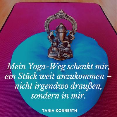Ein Jahr Yoga-Weg